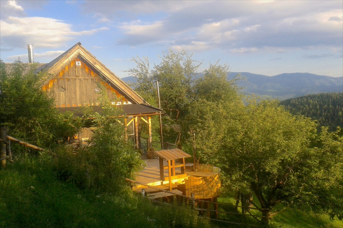 Near Red Bull Ring - 1000m above Sealevel - Secluded location - luxury cabin