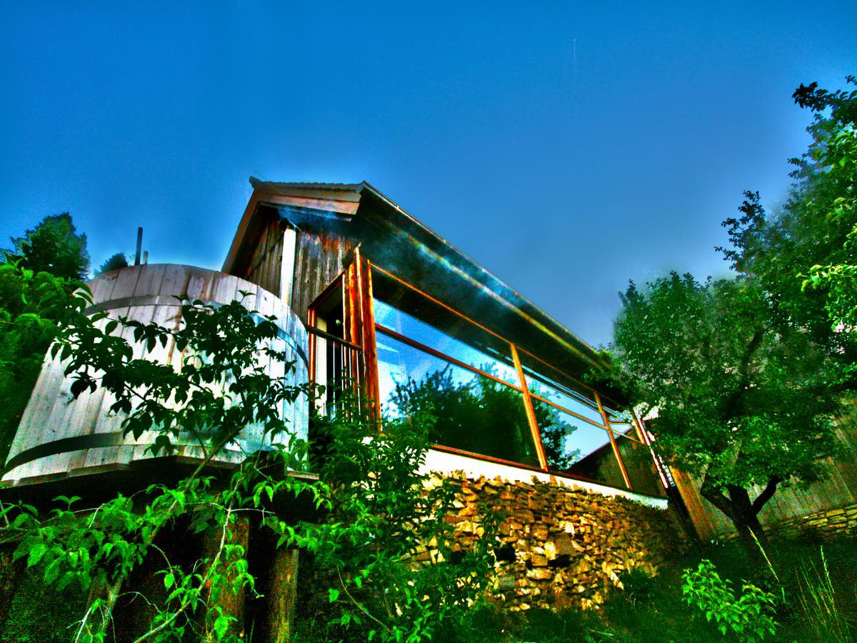 FerienStadl - Luxury Cabin - private Spa - secluded location - in the mountains - Sekauer Alps