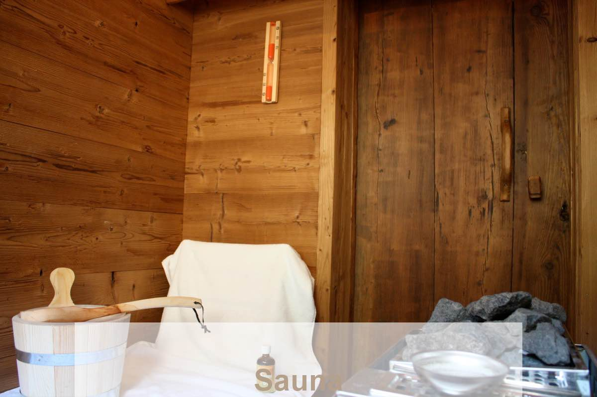 BienenAlm - Sauna - RedBull, Goesser beer, or haymilk as refreshing drink after the sauna?