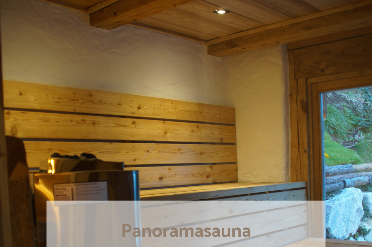 Panorama Sauna - warm up after snowshoeing